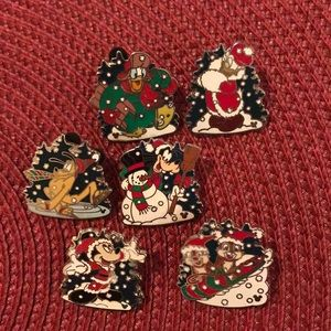 Disney Snow Day pins